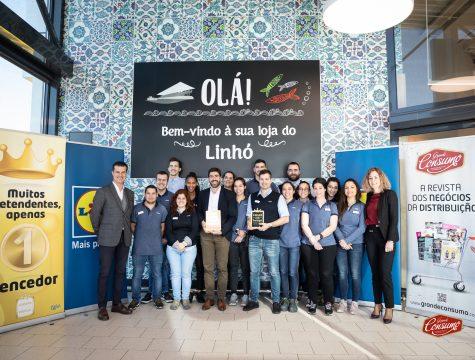 A equipa do Lidl Portugal que recebeu o prémio A Melhor Loja © Sara Matos