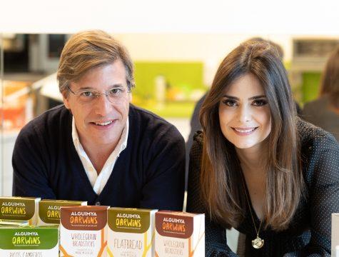 Gonçalo Real, Communications Director, e Joana Perdigão, Product Development Manager, da Buggypower © Sara Matos