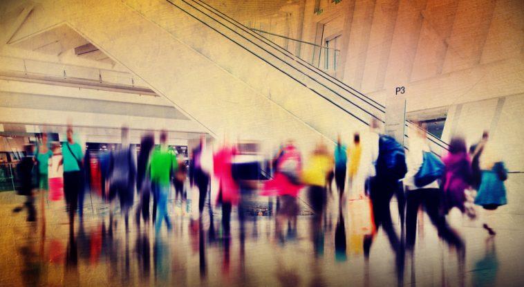 centro comercial pós-Covid