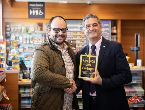 Bruno Farias, diretor revista Grande Consumo, e Armando Oliveira, administrador delegado da Repsol Portuguesa