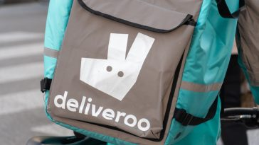 entrada da Amazon no capital da Deliveroo