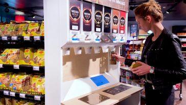 Nestlé testa sistemas dispensadores de café solúvel