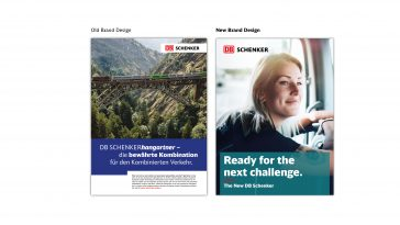 Old vs New Brand Design_Credit DB Schenker