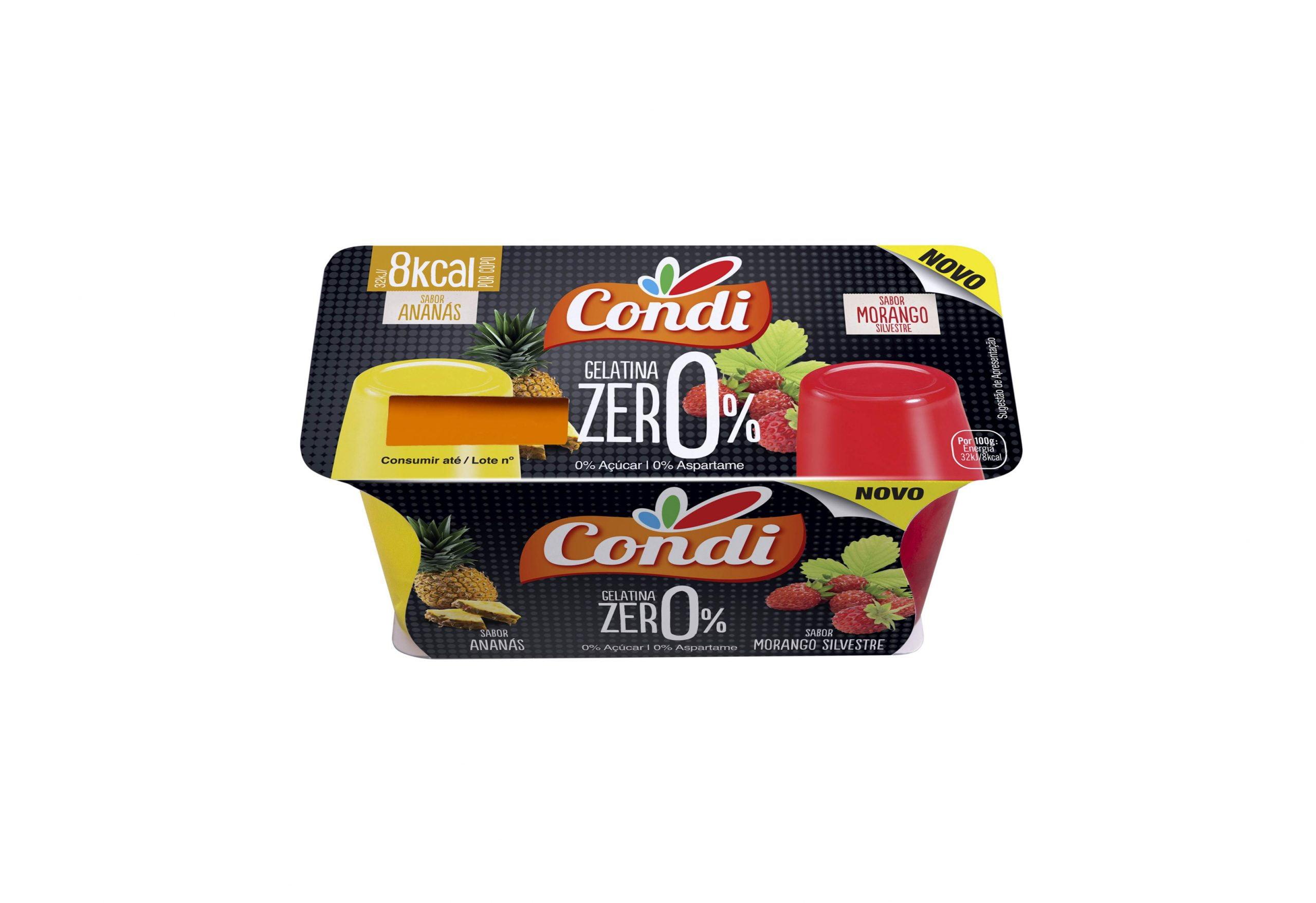 Gelatina Zero Pronta a Comer pack 2 unidades