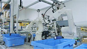 Robots DB Schenker