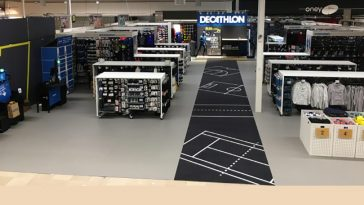 Auchan shop in shop Decathlon