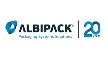 Albipack logo 20 anos