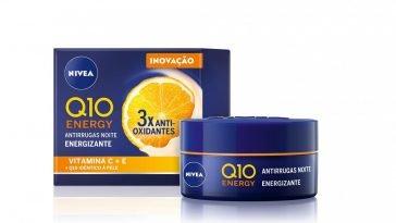 NIVEA Creme de Noite Q10 Energy Antirrugas
