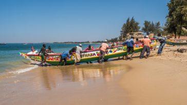 Pesca artesanal Senegal